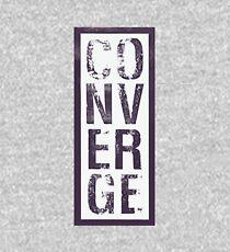 Converge Vertical Kids Pullover Hoodie