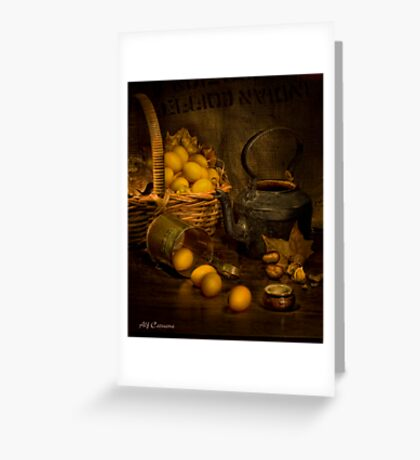 Old Masters Series (print 4)  Greeting Card