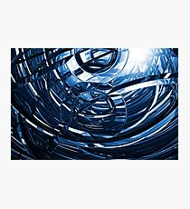 Computer Generated Abstract Photographic Print
