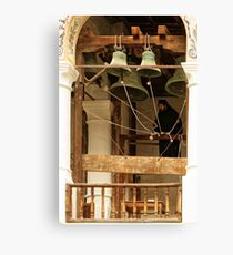 """""""For Whom the Bell Tolls"""" at Rila Monastery, Bulgaria Canvas Print"""