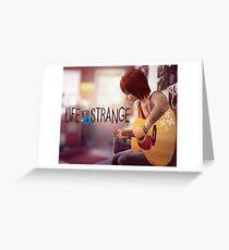 Life is Strange Max playing guitar Greeting Card