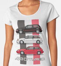 Stack of Volvo 480 Turbos Women's Premium T-Shirt