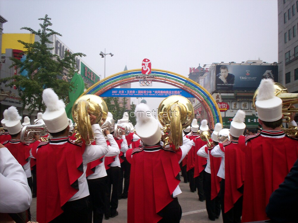 Band on Parade ---- in Bejing by cometkatt