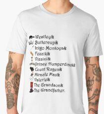 Princess Bride Names Men's Premium T-Shirt
