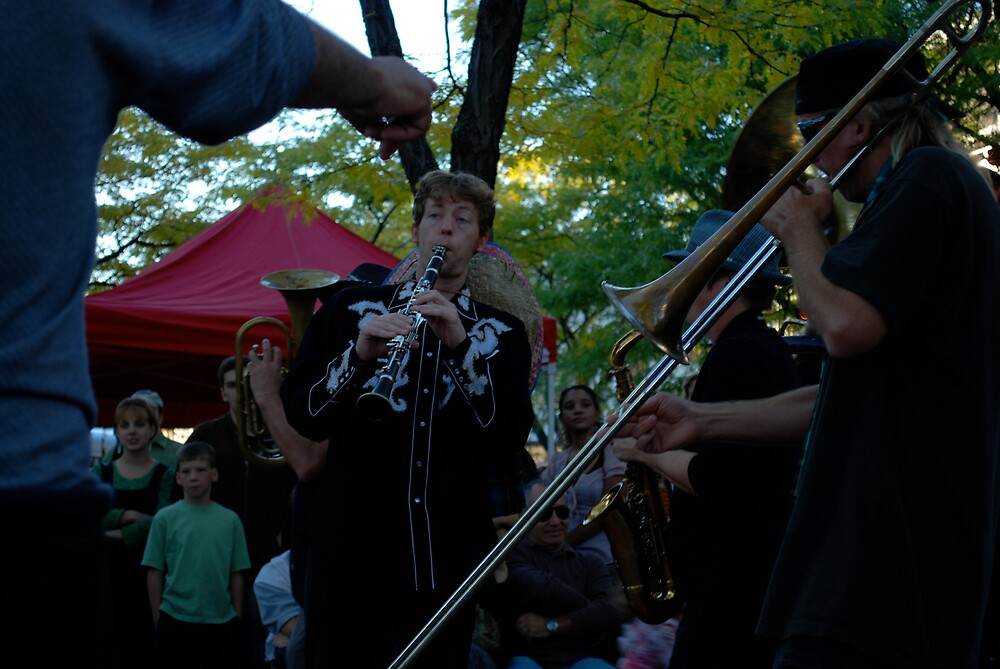 clarinet player from brass messengers by colleenboston