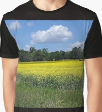 Field of Gold Graphic T-Shirt