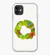Succulent Wreath iPhone Case