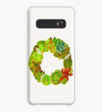 Succulent Wreath Case/Skin for Samsung Galaxy