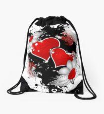 Simple Love 1 Drawstring Bag