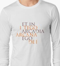Et In Arcadia Ego Long Sleeve T-Shirt