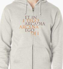 Et In Arcadia Ego Zipped Hoodie