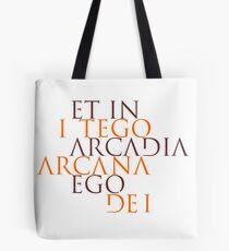 Et In Arcadia Ego Tote Bag