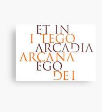 Et In Arcadia Ego Metal Print