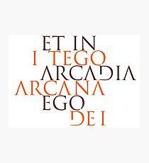 Et In Arcadia Ego Photographic Print