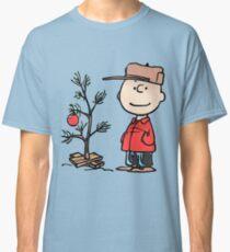 charlie brown tree classic t shirt