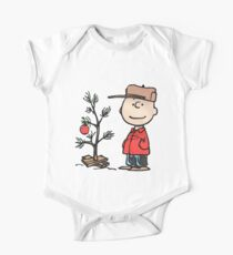 Charlie Brown Tree One Piece - Short Sleeve