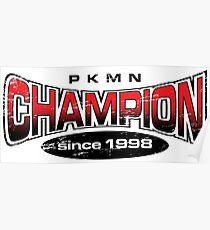 Pokemon Champion_Red Poster