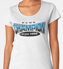 Pokemon Champion_Blue Women's Premium T-Shirt