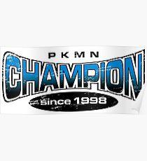 Pokemon Champion_Blue Poster