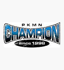 Pokemon Champion_Blue Photographic Print