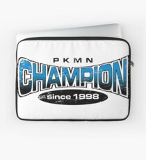 Pokemon Champion_Blue Laptop Sleeve