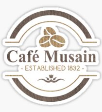 Café Musain Sticker