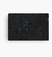 Messier 39 - Open Star Cluster in Cygnus Canvas Print