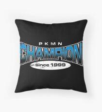 Pokemon Champion_Blue_DarkBG Floor Pillow