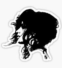 Camila Cabello (black version) Sticker