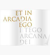 I Tego Arcana Dei Poster