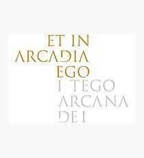 I Tego Arcana Dei Photographic Print
