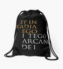 I Tego Arcana Dei Drawstring Bag