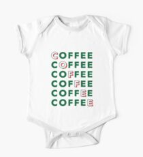 Lots of Coffee Kids Clothes