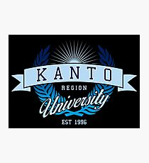 Kanto Region University_Dark BG Photographic Print