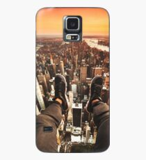 flying over manhattan Case/Skin for Samsung Galaxy