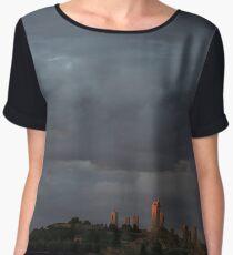 San Gimignano in Sunset Chiffon Top