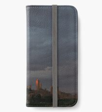 San Gimignano in Sunset iPhone Wallet/Case/Skin