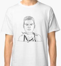 KRISTAPS PORZINGIS RIDE THE UNICORN KNICKS DESIGN  Classic T-Shirt