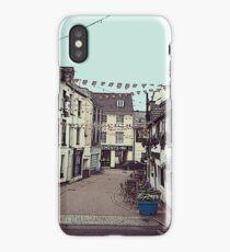 Ilfracombe Streetscape iPhone Case/Skin