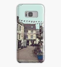 Ilfracombe Streetscape Samsung Galaxy Case/Skin