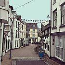 Ilfracombe Streetscape by jennyjeffries