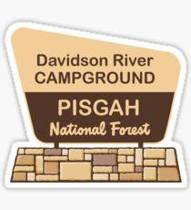 Davidson River Campground, Pisgah National Forest Sticker