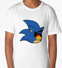 Angry Sonic.Exe Long T-Shirt