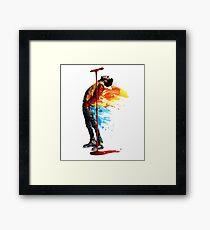 Spirit of Kid Cudi Framed Print
