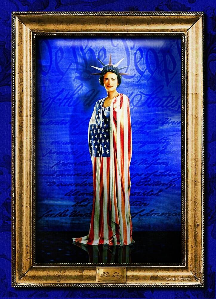 Miss Liberty by Richard  Gerhard