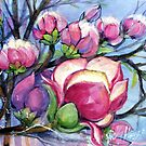 Magnolia in the breeze by Vickyh