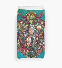 Buckle Up Morty! Duvet Cover