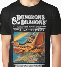 Dungeons and Dragons Master Rules black (Remastered) Graphic T-Shirt