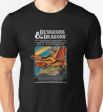 Dungeons and Dragons Master Rules black (Remastered) Unisex T-Shirt