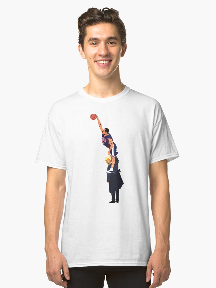 Half Man Half a Nation Classic T-Shirt Front